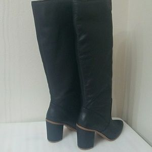 1. State Shoes - 1. State Paiton Dakota Black Tall Leather Boots